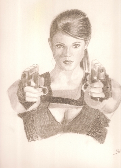 Lara Croft by rouby